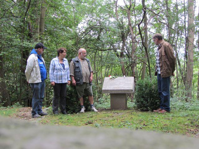 Gedenkstein für Erwin Kreetz
