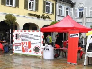 1. Mai Ludwigsburg-Infostand